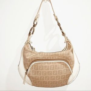 Auth fendi vintage blogger bag